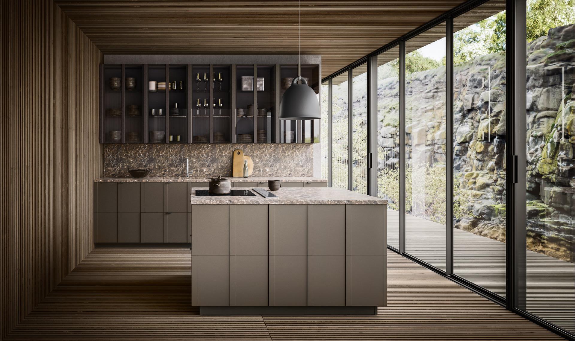 Cucine Moderne Home : Valdesign realizza cucine moderne di alta