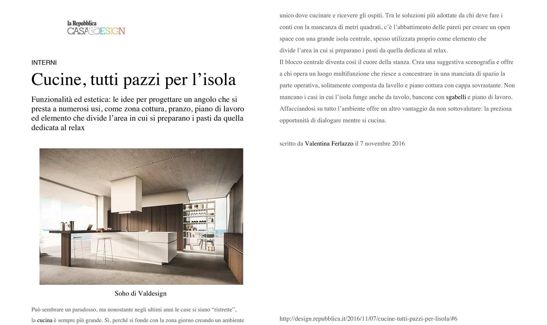 Idee Per La Cucina valdesign realizza cucine moderne. cucine moderne di alta