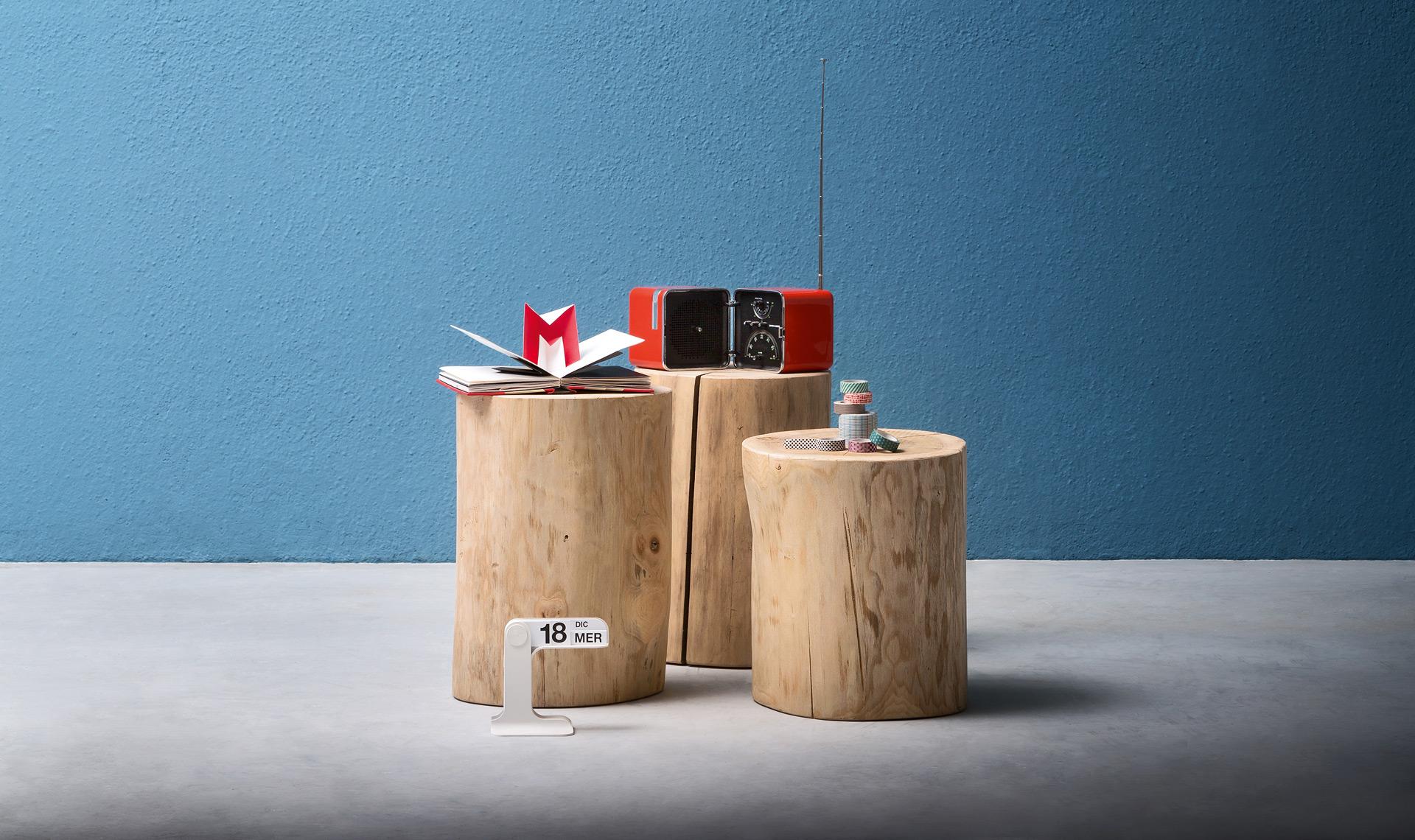 Ceppo Di Legno Tavolino tavoli e tavolini: ceppo - design moderno alf dafré