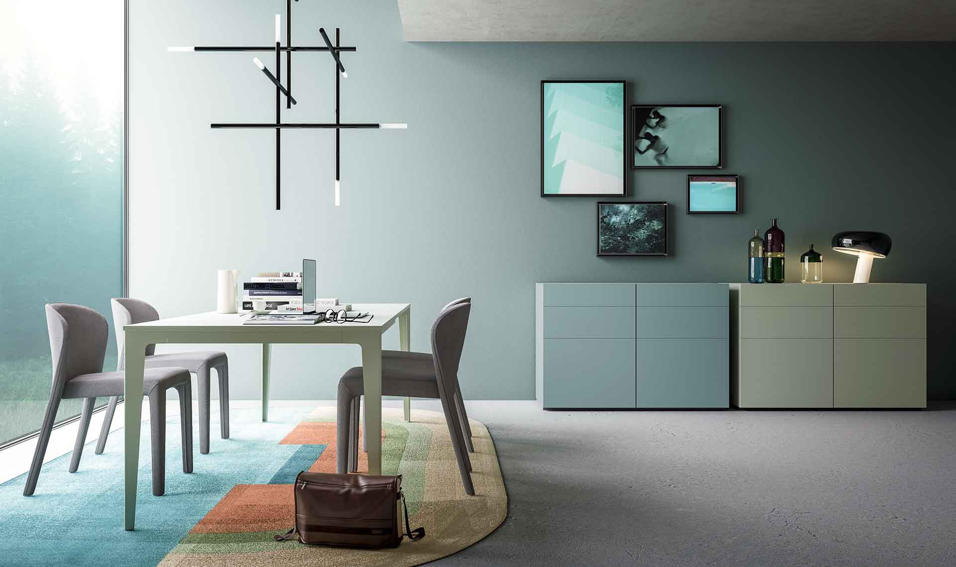 Credenza Moderna Di Design : Credenze e madie metropolis design moderno alf dafré