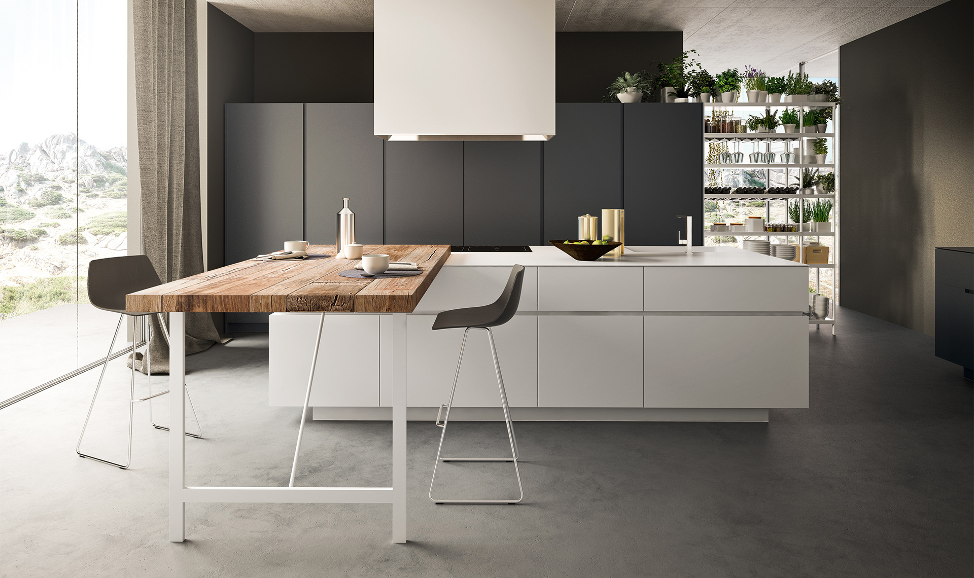 Valdesign realizza cucine moderne cucine moderne di alta for Visma arredo group