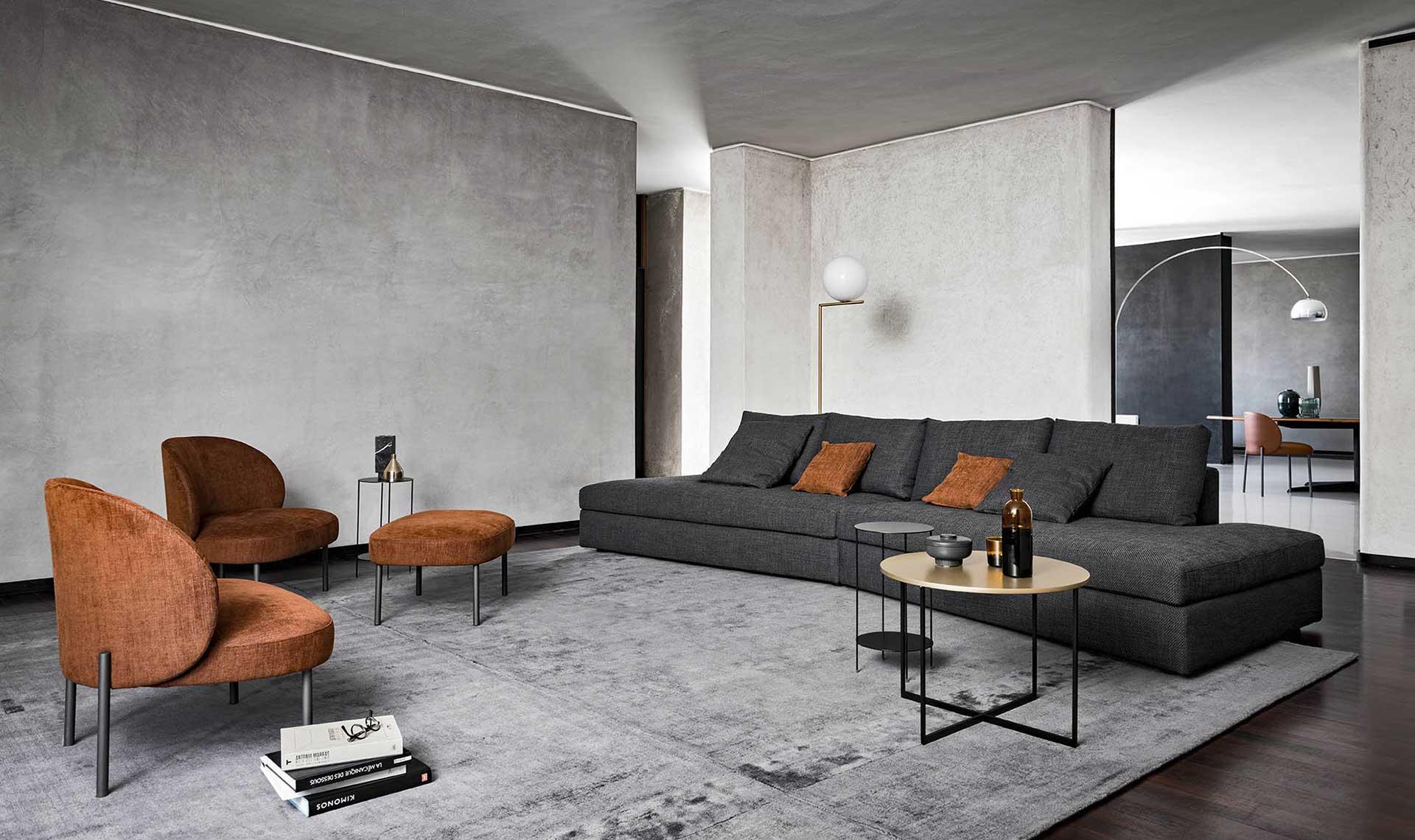 Divani Moderni Pelle Design.Divani California Design Moderno Alf Dafre